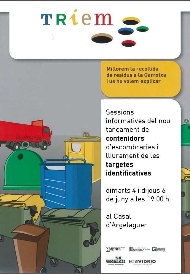 CARTELL SESSIONS CONTENIDORS NOUS